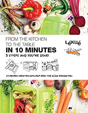 """Lekue """"10 Minute"""" Cookbook"""