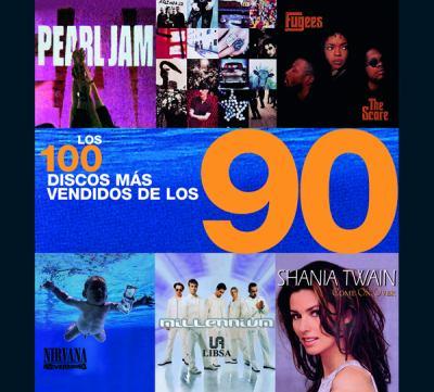 Los 100 Discos Mas Vendidos de Los 90 9788466211956