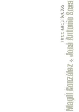 Magui Gonzalez + Jose Antonio Sosa, Nred Arquitectos 9788461138517