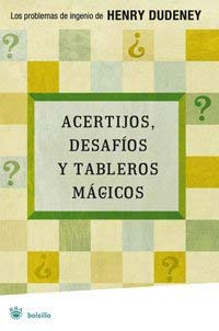 Acertijos, Desafios y Tableros Magicos 9788479011154