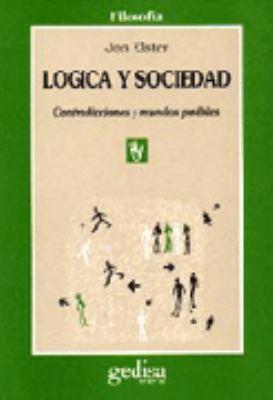 Logica y Sociedad 9788474324655