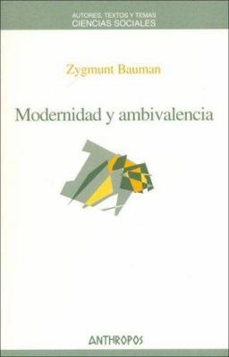 Modernidad y Ambivalencia 9788476587089