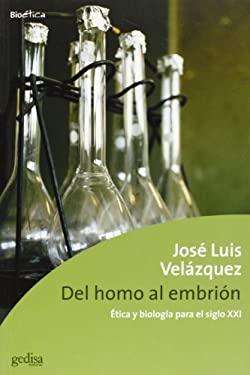 del Homo Al Embrion 9788474329797