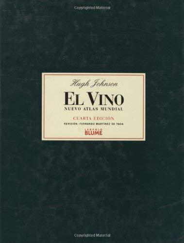El Vino: Nuevo Atlas Mundial 9788480761864