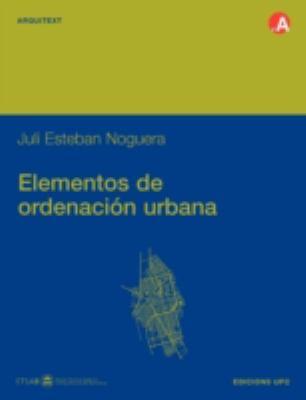 Elementos de Ordenacin Urbana 9788483015124