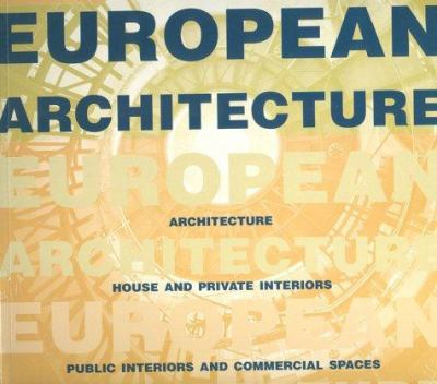 European Architecture 9788481852332