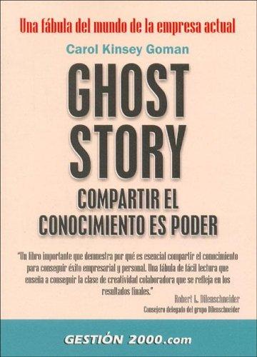 Ghost Story Compartir El Conocimiento Es Poder 9788480884983