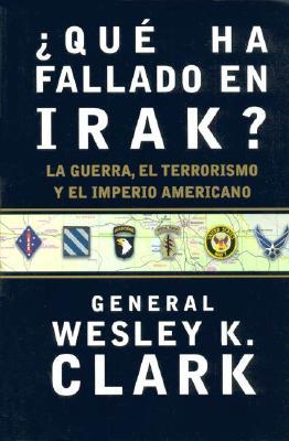 Que Ha Fallado En Irak? 9788484325338