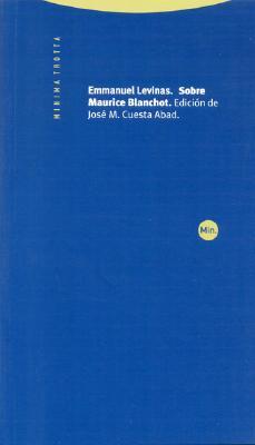 Sobre Maurice Blanchot 9788481644043