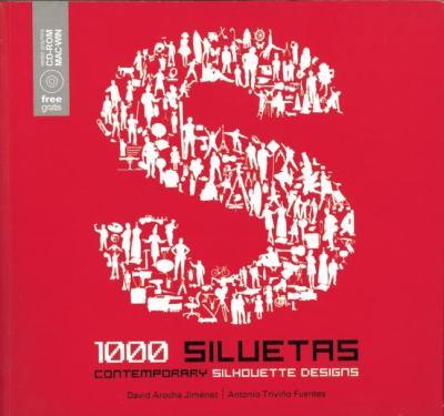 1000 Siluetas: Contemporary Silhouette Designs [With CDROM] 9788493543860