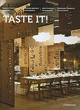 Taste It!: Innovative Restaurant Interiors 9788492810581