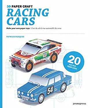 3D Paper Craft Racing Cars 9788492810635