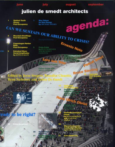 Agenda: Julien de Smedt Architects: Can We Sustain Our Ability to Crisis? 9788492861620