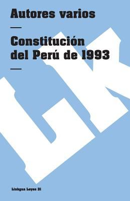 Constitucion del Peru de 1993 9788498161281