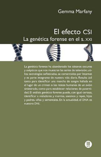 El Efecto Csi: La Gen Tica Forense En El S.XXI 9788498804195