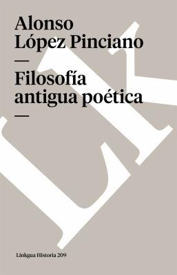 Filosofia Antigua Poetica 9788498165975