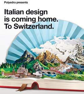 Polyedra Presents: Italian Design Is Coming Home. To Switzerland. 9788492861743