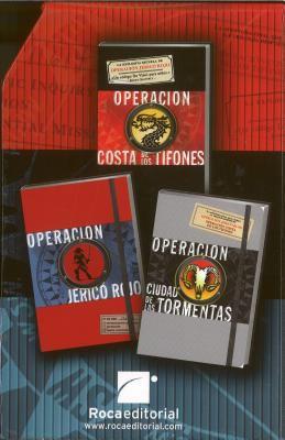 La Trilogia de la Cofradia: Operacion Jerico Rojo/Operacion Costa de los Tifones/Operacion Ciudad de las Tormentas 9788499183619