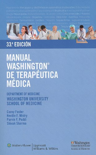 Manual Washington de Terapeutica Medica 9788496921603