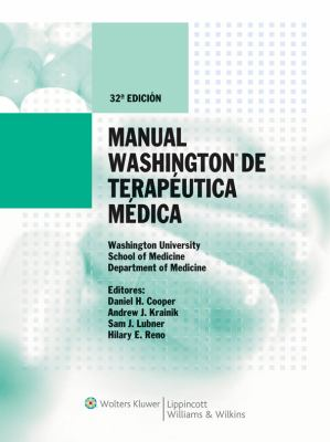 Manual Washington de Terapeutica Medica 9788493558369
