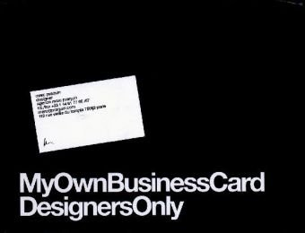My Own Business Card, Volume 1 9788492643219
