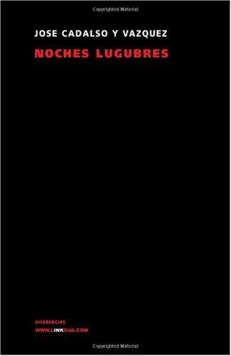 Noches Lugubres 9788498168006
