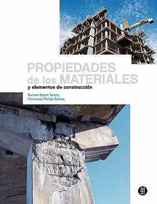 Propiedades de Los Materiales y Elementos de Construcci N 9788498804232