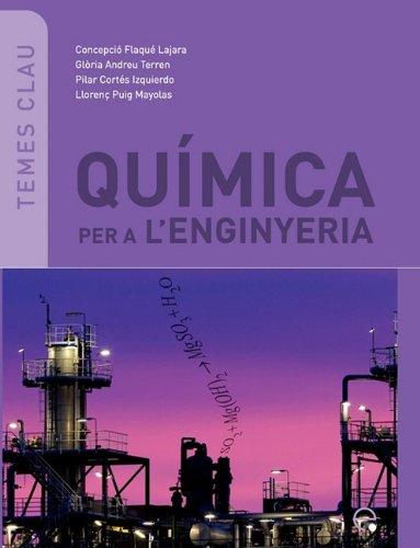 Qumica Per A L'Enginyeria 9788498803556