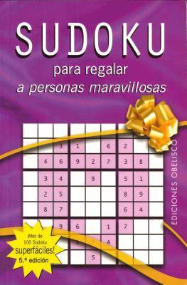Sudoku - Para Regalar a Personas Maravillosas 9788497772402
