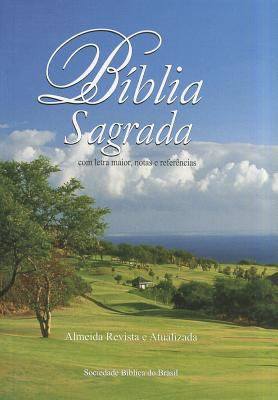 Biblia Sagrada Com Letra Maior-FL