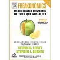 FREAKONOMICS - O LADO OCULTO E INESPERADO DE TUDO QUE NOS AFETA - PORTUGUES BRASIL - Steven D. Levitt