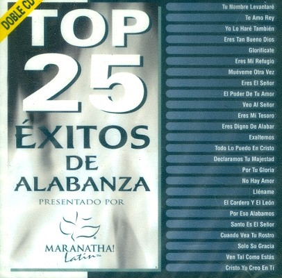 Top 25 Exitos de Alabanza 0738597144325