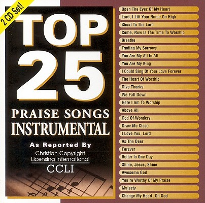 Top 25 Praise Songs Instrumental 0738597178122