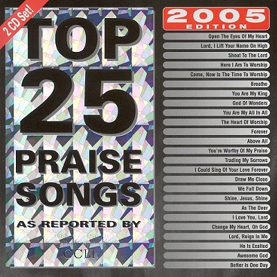 Top 25 Praise Songs 2005 0738597182426