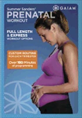 Summer Sanders Prenatal Workout