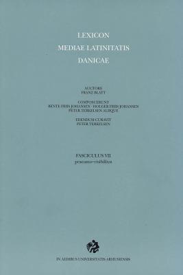 Lexicon Mediae Latinitatis Danicae: 7 Praeamo 9788779343795