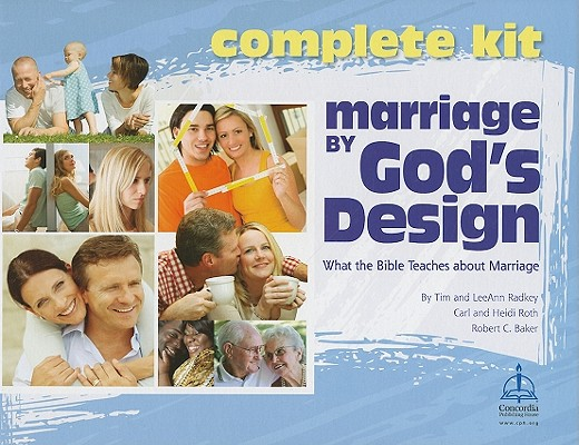 Marriage by God's Design Kit: What the Bible Teaches about Marriage [With Poster and 10 Workbooks and 4 DVDs and Leader's Guide]