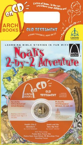 Noah's Two-By-Two Adventure/Jonah and the Very Big Fish [With CD]