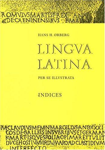 Lingua Latina: Indices 9788799701698