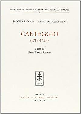 Carteggio (1719-1729)