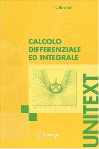 Calcolo Differenziale Ed Integrale 9788847002852