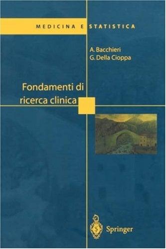 Fondamenti Di Ricerca Clinica 9788847002111