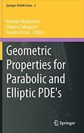 Geometric Properties for Parabolic and Elliptic PDE's 20376158