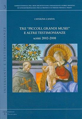 Tre 'Piccoli, Grandi Musei' E Altre Testimonianze: Scritti 2002-2008 9788859606925