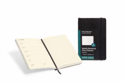 2013 Moleskine Large Weekly Notebook 18 Months Hard