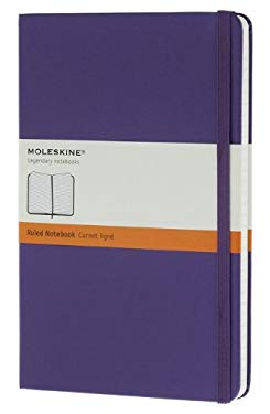 Moleskine Notebook Ruled Brilliant Violet Hard Cover Large (Moleskine Classic) 9788866136484