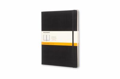 Moleskine Ruled Notebook 7.5X10 Black (Moleskine Classic)