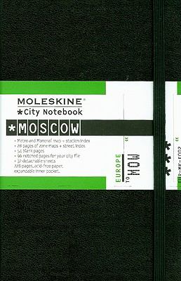 Moleskine City Notebook Moscow 9788862930215