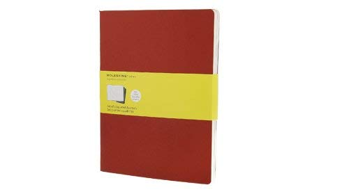 Moleskine Squared Cahier Journal X-Large, Red