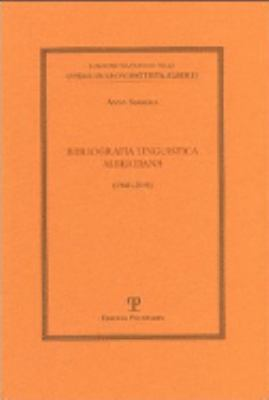 Bibliografia Linguistica Albertiana: 1941-2001 9788883047831